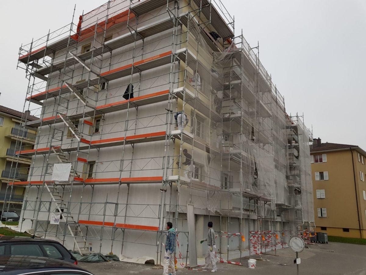 Ravalement de façade Lausanne